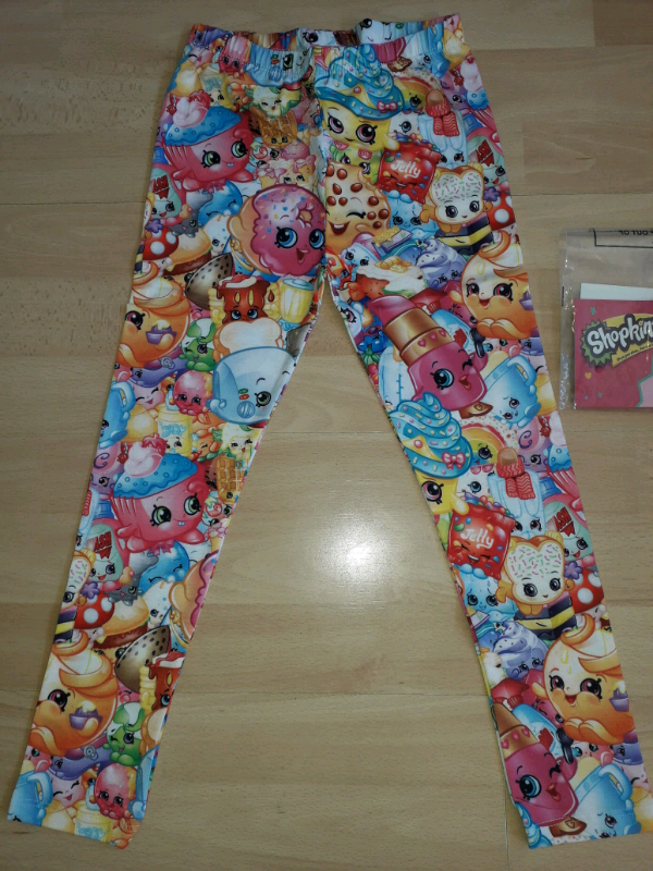 58818f9b Brand New Sealed 5-6 Years Shopkins Leggings | in Leicester ...