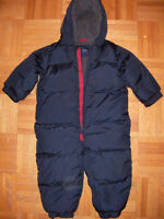 Baby Gap Snow Suit Down filled  18-24 month