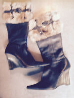 Tall Leather women's Boots