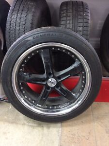 """Mags tsw 5/120 20"""" tire 245/45/20"""