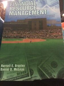 Financial resource management - sport, tourism, and leisure