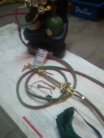 Oxy/acetylene torch kit for sale