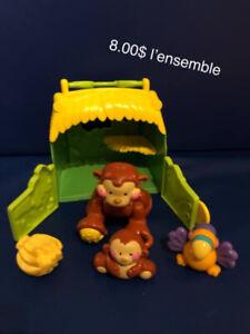 Familles de singes