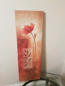 Paint picture, wall decor $25