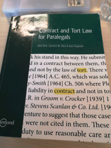 Contract and tort law