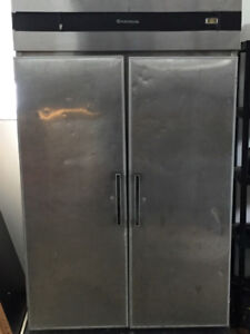 Coldstream 2 door stainless steel freezer