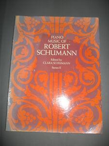 The Piano Music of Robert Schumann (sheet music book)