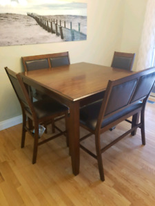 Beautiful kitchen table and chairs/benches