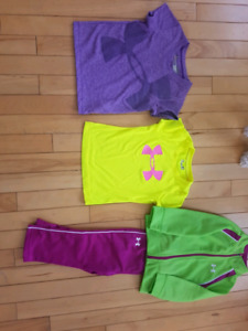 Size 2 Under Armour lot