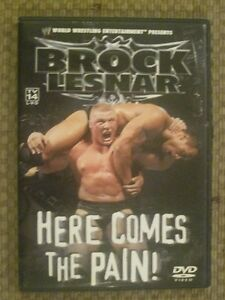 WWE Brock Lesnar Here Comes The Pain
