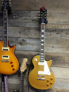 """EPIPHONE 56 REISSUE GOLD TOP PRO WITH P90""""S"""