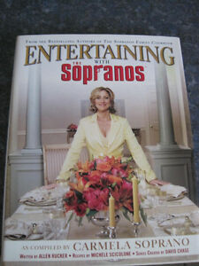 Entertaining with the Sopranos Hardcover Cookbook