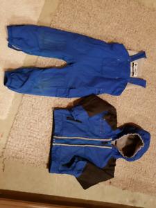 Size 4 Columbia Snowsuit