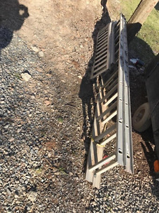 HEAVY DUTY LADDER AND LOADING RAMPS FOR SALE!