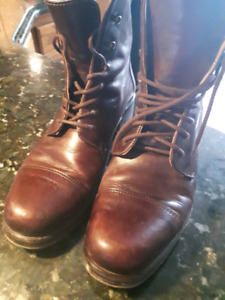 Italian Made Leather  Boots