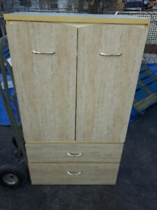 FREE - 2-Door Armoire with 2 Drawers