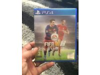 Fifa 16 PS4 and controller