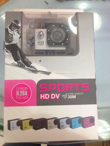 Professional A3 sports cam LCD full hd 1080P 12MP