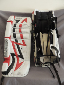 9e25570a7e3 Goalie Pads - Youth - Vaughn Velocity - 26 + 1