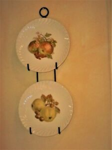 VINTAGE BURLEIGH WARE FRUIT PLATES