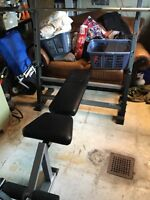 Olympic Weight Bench And Bar