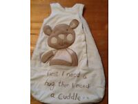 Baby sleeping bag 0-6 months