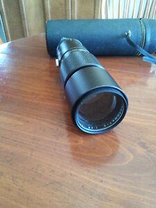 Vintage 300 mm Camera Lens