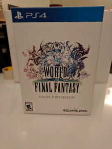 World of Final Fantasy collectors editions ps4