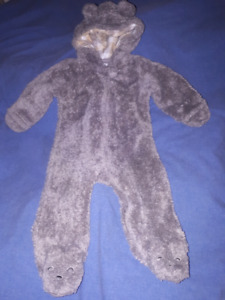 Carter's Boys 1pc Fall/Winter Snowsuit 9mts,CarSeat Friendly