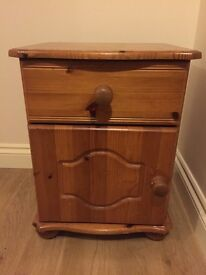 Solid Pine Bedside Table