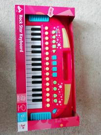 As New: Carousel Rock Star Keyboard