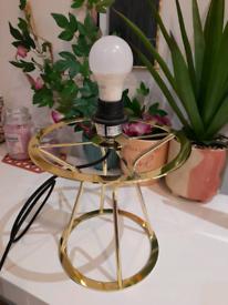 Habitat Gold lamp base