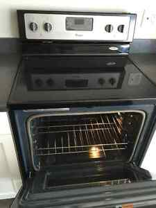 Whirlpool Stainless Steel Fridge and Matching Stove Regina Regina Area image 3