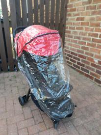 Mountain buggy nano v2 small compact fold pushchair stroller buggy