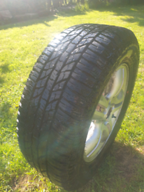 All terrain tyres and wheels