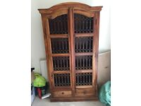 Beautiful rustic spanish style display unit and side board