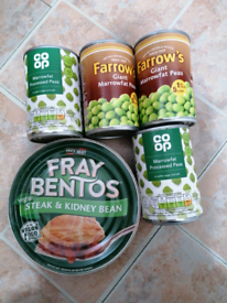 Free Vegan Pie and 4 x Marrowfat peas