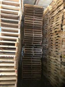 "Wooden pallets 40""x48"" for sale"