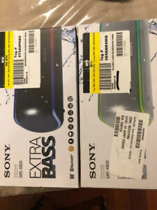 SONY SRS-XB31 BLUETOOTH SPEAKER waterproof large size
