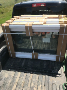 4 new large crank out windows all same size for sale