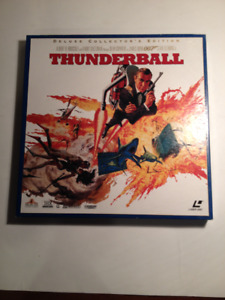 THUNDERBALL 007 DELUXE COLLECTOR'S EDITION