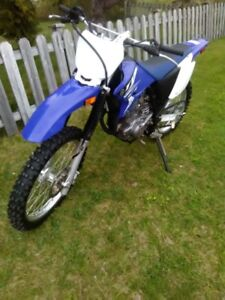 JUST IN TIME FOR GRADING DAY / LIKE NEW 2015 YAMAHA TTR230