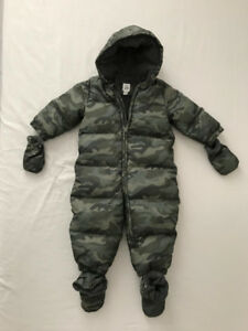 MINT/Like New - GAP Down-filled One-Piece Snowsuit (18-24 mo)