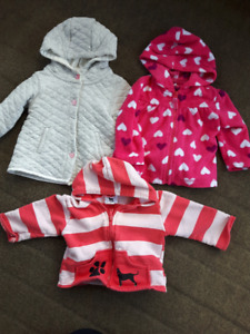 Size 6-12 Month Girl Fall/Winter Lot