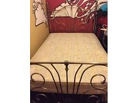 Vintage Fram Double Bed with Mattress