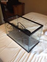 5 gallon fish tank just great for small fish!