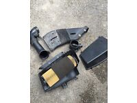 Volvo s60r (possibly v70r) complete intake system including airbox and MAF