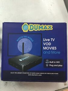Dumax HD QUAD CORE IPTV Android TV Box Better than Jadoo/BTV