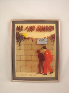 Antique 3-D Picture Me and My Shadow date 1927