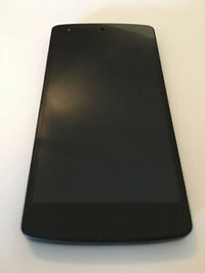 LG NEXUS 5 16GB NOIR EN TRES BON ETAT! DEVEROUILLÉ/UNLOCK